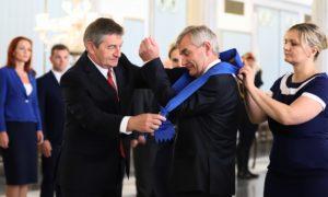 Marszałek Sejmu wręczył Krzyż Wielki Orderu Zasługi RP przewodniczącemu litewskiego Seimasu