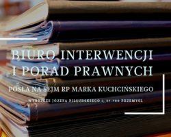 Bezpłatna pomoc w Biurze Interwencji i Porad Prawnych PiS w Przemyślu