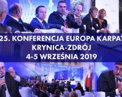 25. Konferencja Europa Karpat podczas Forum Ekonomicznego w Krynicy