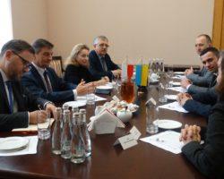 Poseł Marek Kuchciński z wizytą we Lwowie