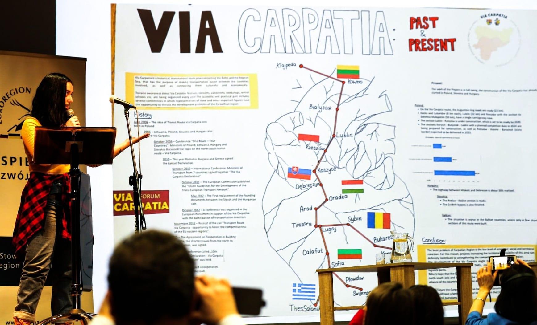 Młodzież akademicka to szansa lepszej współpracy i integracji dla rozwoju Karpat