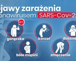Informacje na temat koronawirusa