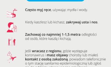 Koronawirus w Polsce – wsparcie i profilaktyka