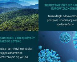 Państwa karpackie w walce z koronawirusem