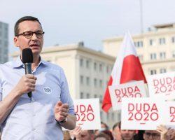 Morawiecki na Podkarpaciu: Andrzej Duda stoi po stronie zwykłych ludzi