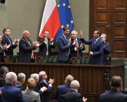 Sejm udzielił wotum zaufania dla rządu premiera Morawieckiego